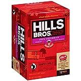 Hills Bros Coffee, 100% Colombian Medium Roast, Single Serve Coffee Cups, 12 Count, 3.8 oz