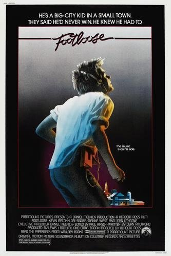 amazon com footloose movie poster 11x17 master print posters prints