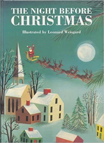 the night before christmas clement c moore 9780760706855 amazoncom books