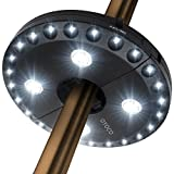 28 LED Patio Umbrella LightHow many times have you found yourself sitting around the patio table in the evening, reading your favorite books and shielded by the umbrella, only to call it a night when the sun goes down? Or, having a dinner or talk wit...