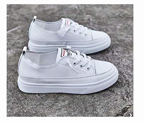 Plataforma Alhm Wild White2 Zapatos Thick Mujer Para Pies De Zapato Cuero Blanco fwqAFxzf