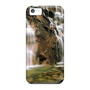 Excellent Iphone 5c Case Tpu Cover Back Skin Protector Waterfall
