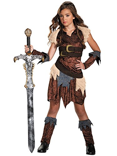 [Barbarian Beauty Tween Costume, X-Large (14-16)] (Pretty Scary Halloween Costumes)