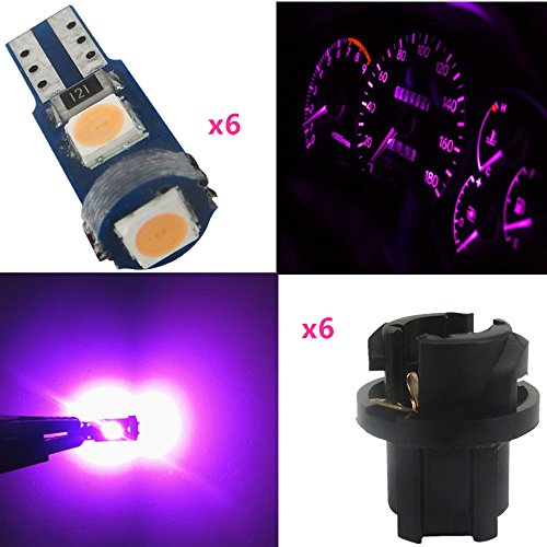 Pink Led Gauge Cluster Lights