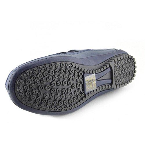 Pelle Soletta Kick Donna Superiore Vera In Marina Eleganti A Footwear Confortevole Scarpe Piedi wTxRqS