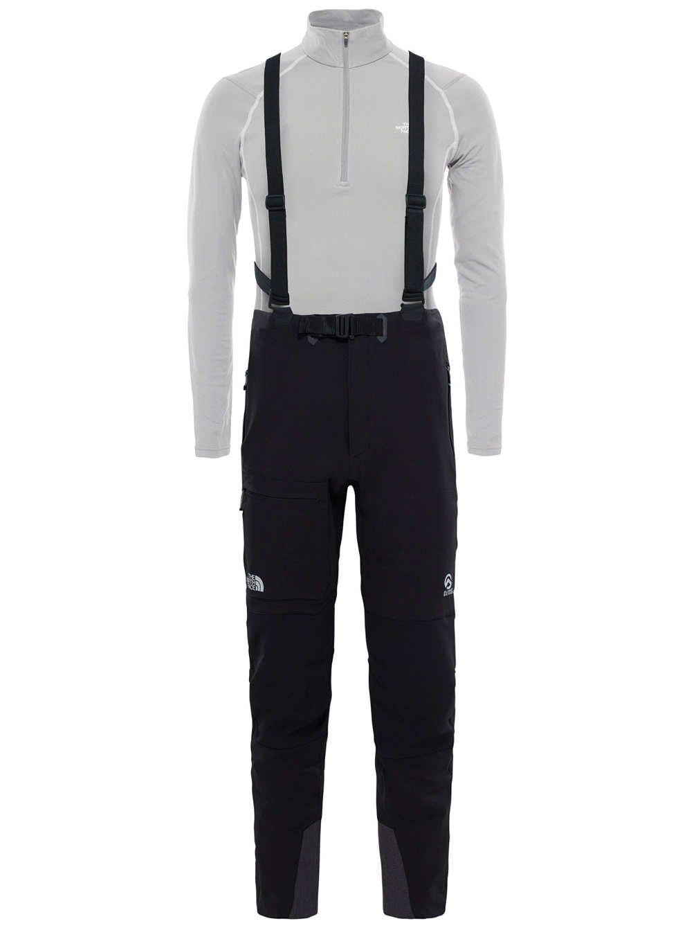 North Face M Summit L4 Softshell Pant – Pantalon Homme, Noir – (TNF noir TNF noir)  -