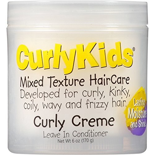 CurlyKids Mixed HairCare Curly Creme Conditioner 6oz
