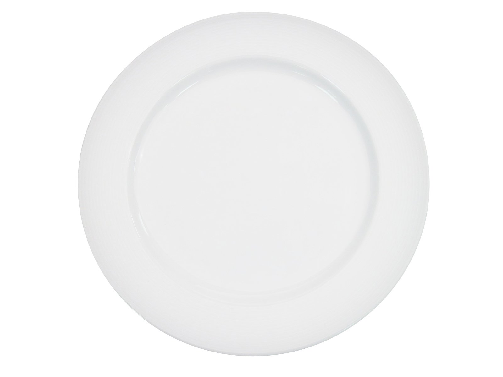 CAC China HMY-7 7-1/2-Inch Harmony Porcelain Plate, White, Box of 36