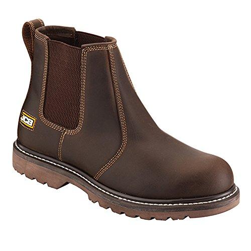 JCB - Botas de Otra Piel para hombre marrón oscuro