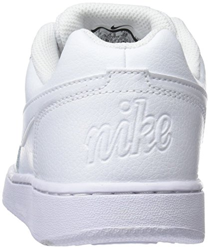 White 001 Damen Weiß Basketballschuhe White Low NIKE Ebernon gOqwOA