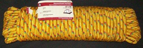Everbilt Diamond-braid Poly Rope 3/8