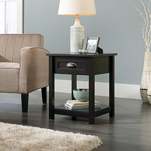 home, kitchen, furniture, bedroom furniture,  nightstands 10 picture Sauder County Line Night Stand, Estate Black finish promotion