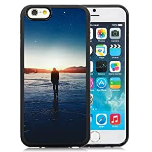 New Beautiful Custom Designed Cover Case For iPhone 6 4.7 Inch TPU With Sunset Stars Phone Case WANGJIANG LIMING