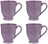 Lenox 843831 French Perle - Violet Mug - Pack of 4
