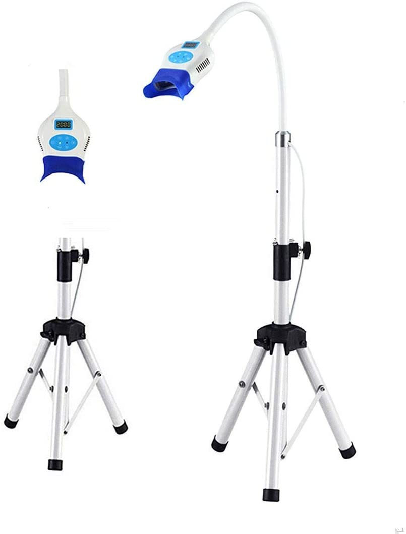 SoHome 18W Dental Teeth Whitening Unit YS-TW-FL with 6Pcs High Power Blue LED Light Bleaching Accelerator Floor Stand Type