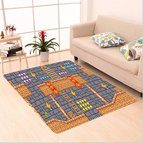 Nalahome Custom carpet Kids Decor Fantastic Electronic Super