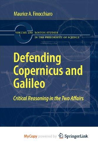 Defending Copernicus and Galileo