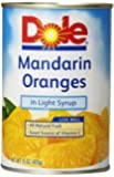 Dole Mandarin Oranges, 15 Ounce Cans (Pack of 12)