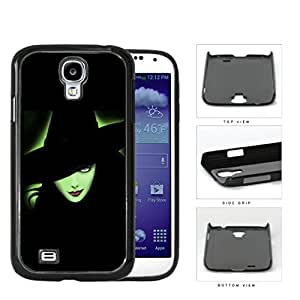 Halloween Green Witch Outline Glow Hard Plastic Snap On Cell Phone Case Samsung Galaxy S4 SIV I9500