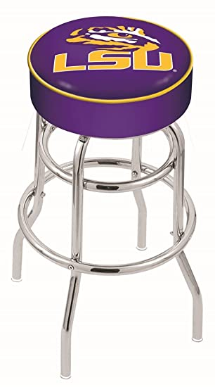 Holland Bar Stool L7C1 4 Louisiana State Cushion Seat with Double