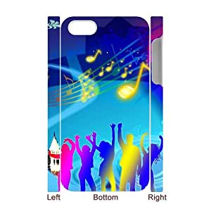 SYYCH Phone case Of Dynamic Music 1 Cover Case For Iphone 4/4s
