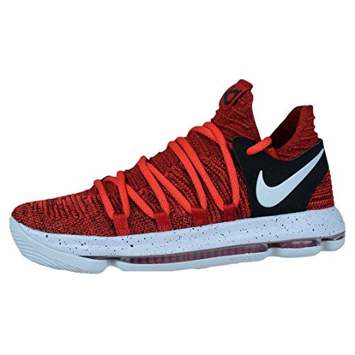 new styles 05d2c 87e9c NIKE KD10 RED VELVET BASKETBALL SHOES UNIVERSITY RED PURE PLATINUM 897815  600 chic