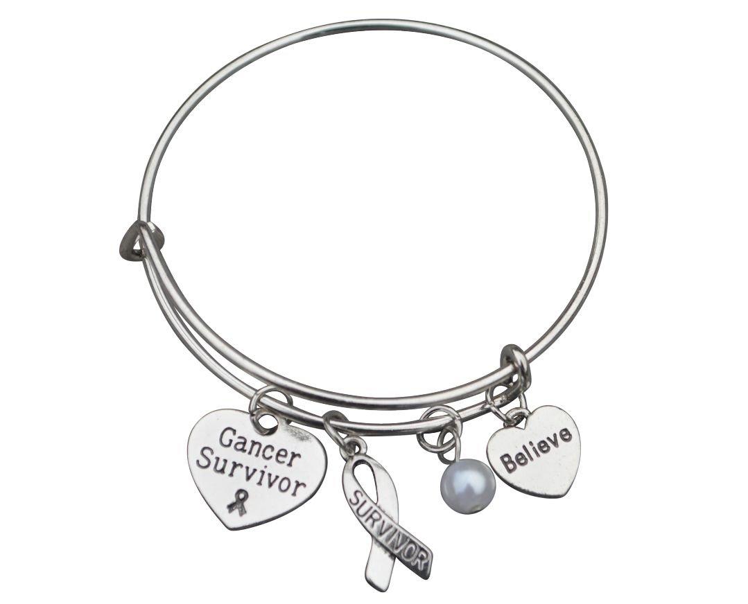 Cancer Survivor Bracelet, Cancer Awareness, Makes the Perfect Cancer Survivor Gift