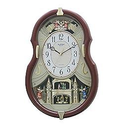 Rhythm Clocks Viola Entertainer II Musical Motion Clock