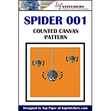 SPIDER 001 Counted Canvas Pattern