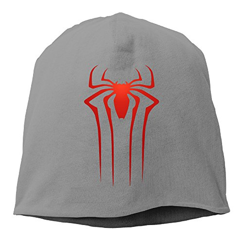 YUVIA The Amazing Spider Men's&Women's Patch Beanie CampingDeepHeather Cap Hat For Autumn And (Holland Costume City)