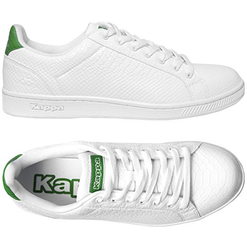 Sneakers Green Galter Galter 4 Sneakers 4 Green White White Sneakers Uptwq
