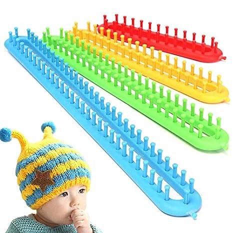 Amazon.com  PM Plastic Sock Scarf Hat Maker Craft Tool Kit Knitting ... b890cd72a25