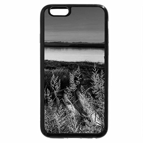 iPhone 6S Plus Case, iPhone 6 Plus Case (Black & White) - Impart Sunset