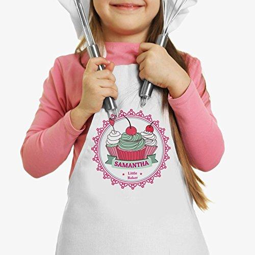 Personalized Direct Little Apron Cherry Cupcakes Custom Kids Apron