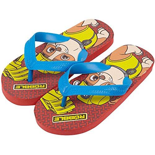 Flip Flops Pat Patrouille Rot - rot