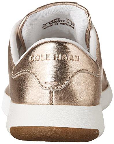 Rose White Sneaker Ox Metallic Grandpro Optic Fashion Haan Leather Lace Tennis Womens Cole Gold xw4ZCqxF