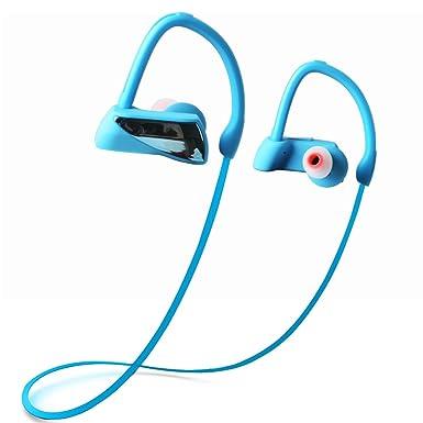 Auriculares Bluetooth, maxbo estéreo deporte inalámbrico a prueba de sudor – Auriculares in-ear