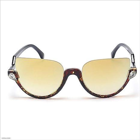 Gafas de Sol Semi-sin Montura para Mujer Gafas de Sol ...