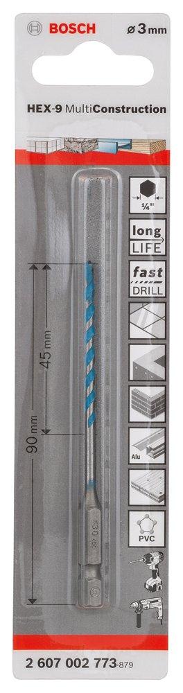 2607002775 Punta multiuso HE x -9 Bosch multi-costruzione