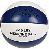 Champion Sports 8-9LB MEDICINE BALL