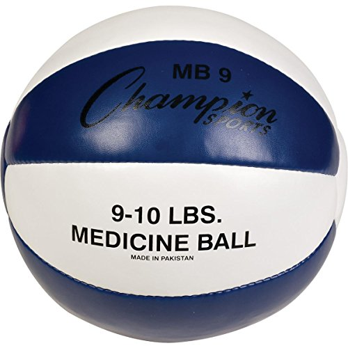 Champion Sports 8-9LB MEDICINE BALL by Champion Sports