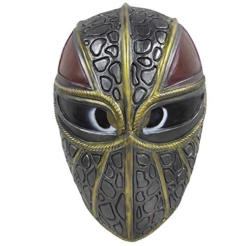CHENLIN How to Train Your Dragon 3 Latex Face Mask Full Head Helmet (B) Yellow ()