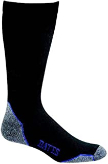 product image for Bates Moderate Compression Large Black Sock 1 Pack