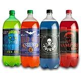 Morbid Enterprises - Halloween Glow in the Dark Soda Bottle Labels