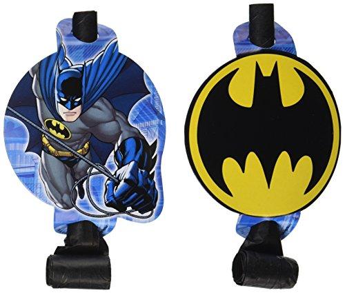 DesignWare Amscan AMI 331386 Batman Blowouts for (Batman Party Ideas)