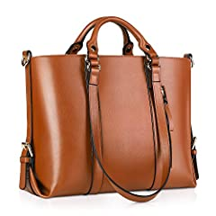 """Basic Information's: Dimensions:13.78""""(L-TOP)/16.93(L-Bottom) * 12.99""""(H) * 3.94""""(D) Net weight: 2.2lb Remarks: 1. This product is made of top quality leather and has that wonderful new leather aroma. If you are not used to it, you could just..."""