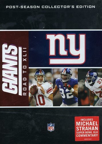 New York Giants: Road To XLII [DVD] (Home Entertainment Products Dvd)