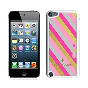 Customize iPod Touch 5th Case Kate Spade New York Hardshell Case for iPod Touch 5 Cover 129 White