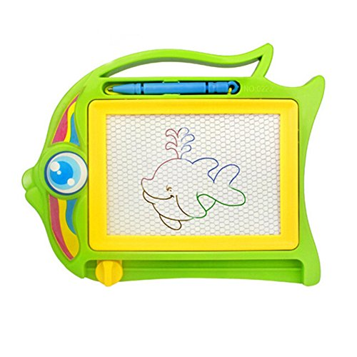 Academyus Magnetic Drawing Board Sketch Pad Doodle Writing Craft Art for Children Kids