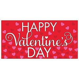 Amscan Valentine's Day Horizontal Banner